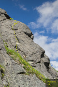 Rock Climbing Photo: Flaked Out 5.8