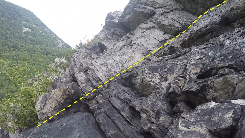Rock Climbing Photo: When you come to this corner go straight up