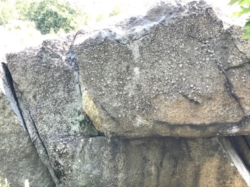 Rock Climbing Photo: Shows the whole climb, starting with crimp under r...