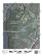 Rock Climbing Photo: A map of the boulders in Spring Pond Woods.