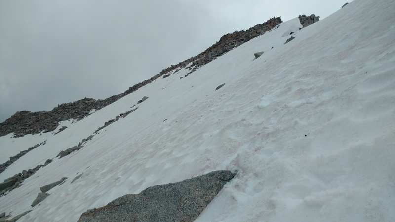 Looking at the summit