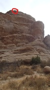 Rock Climbing Photo: the Famous Rocks next to parking lot. This is one ...