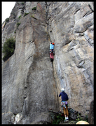 Rock Climbing Photo: Source of The Nile
