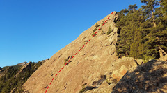 Rock Climbing Photo: Hillbilly Rock.