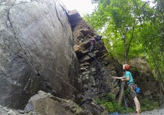 Rock Climbing Photo: Fun climb
