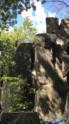Rock Climbing Photo: Big Easy (V0)