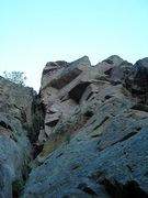 Rock Climbing Photo: Plan B (second pitch roof)