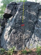 Rock Climbing Photo: View of baby phase