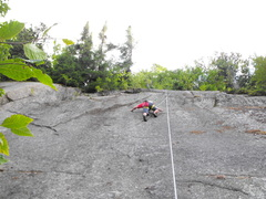 Rock Climbing Photo: Many small crimpy holds ...