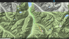 Rock Climbing Photo: Photo of the gps data uploaded in the comments