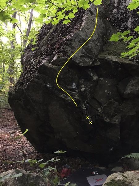 Rock Climbing Photo: Hydro Jo.