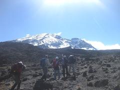 Rock Climbing Photo: Kilimanjaro climb