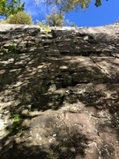 """Rock Climbing Photo: A photo of """"Between a Block and a Hard Place&..."""