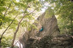 Rock Climbing Photo: ian sending