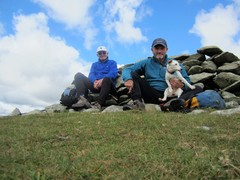 Rock Climbing Photo: Lunch on Helvellyn