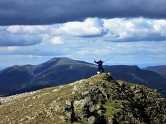 Rock Climbing Photo: Helvellyn Range