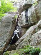 Rock Climbing Photo: S Matz on P1