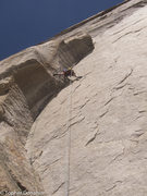 Rock Climbing Photo: Mike Schlauch getting the goods.