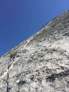 Rock Climbing Photo: Yosemite, Snake Dike