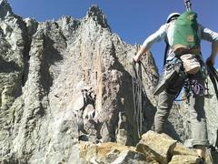 Rock Climbing Photo: Sun Ribbon Arete