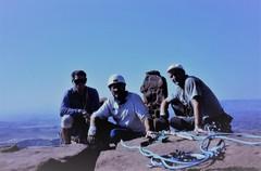 Rock Climbing Photo: Paul Gardner . Paul Ross Andy Ross on the summit 1...