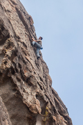 Rock Climbing Photo: Featured Face. It may be short, but it's very enjo...