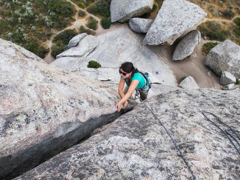 Rock Climbing Photo: Rye Crisp