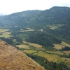 The view south from near the summit of Mount Maxwell on Salt Spring Island