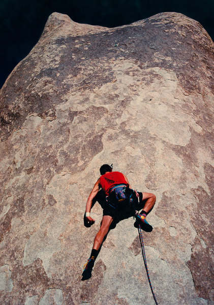 Rock Climbing Photo: Kris Solem leading Snap on Demand