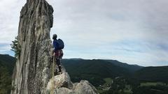 Rock Climbing Photo: Gunsight Direct