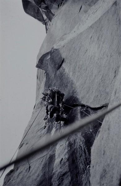 Rock Climbing Photo: P.Ross Salathe Wall 1973