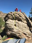 Rock Climbing Photo: Beta for The Neon.