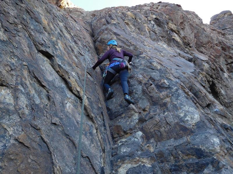 "Rock Climbing Photo: Hiking ""Mr. Ed."""