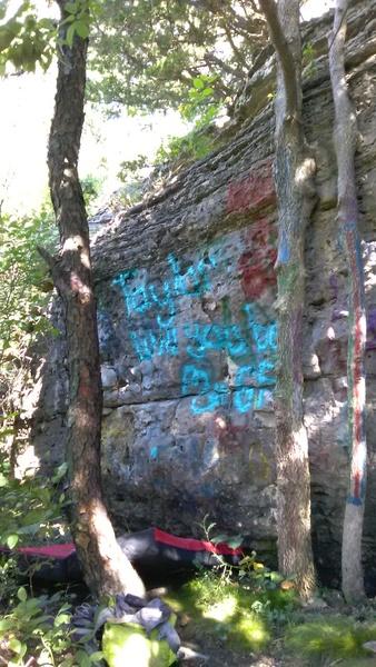 Rock Climbing Photo: What a beautiful color