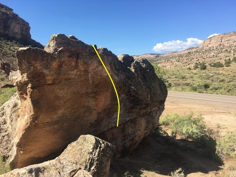 Rock Climbing Photo: Beta for Jingo-ism.