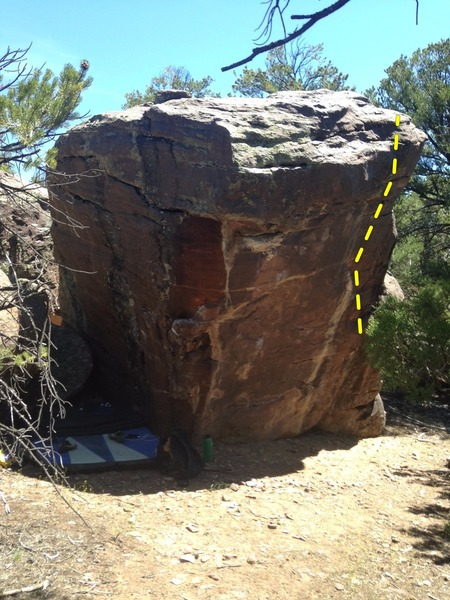 Rock Climbing Photo: the Dr.