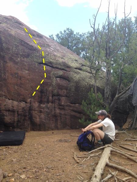 Rock Climbing Photo: Barney
