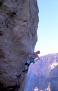 Rock Climbing Photo: A little different camera angle to show the actual...