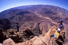Rock Climbing Photo: The very spectacular summit of Comanche Point Pinn...