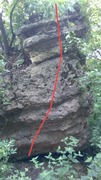 Rock Climbing Photo: Upper reaches of Sandscape