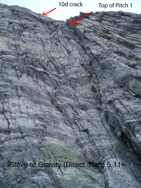 Slave to Gravity (Direct Start) 5.11+