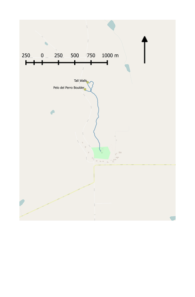 A rough map of the current north bouldering situation