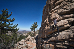 Rock Climbing Photo: Block on Block.