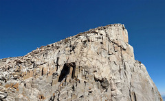 Rock Climbing Photo: Keeler Needle SW edge seen from south
