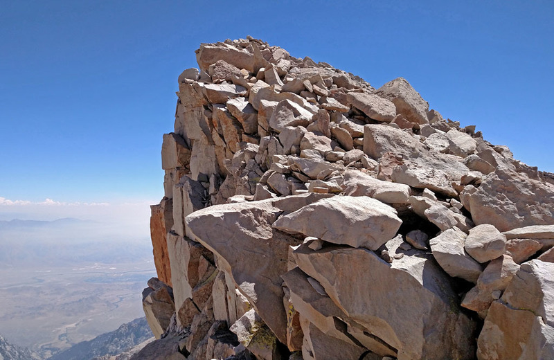 Keeler Needle - WNW Edge - upper part