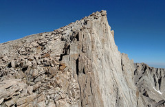 Rock Climbing Photo: Crooks Peak (Day Needle) - SouthWest Edge - seen f...