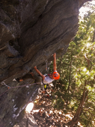 Rock Climbing Photo: Nams killing it