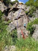Rock Climbing Photo: Change de Face(bleu) Corde fixe pour y accéder(r...