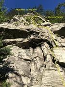 Rock Climbing Photo: Start of Free But Worth It 5.3* G