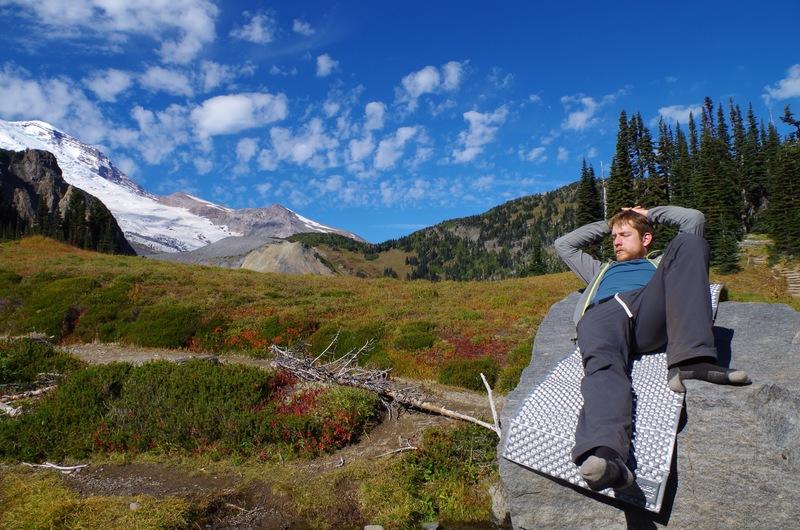summerland, during our wonderland trail adventure.